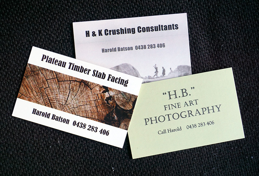 BUSINESS CARDS & STICKERS - Top Dog Signs
